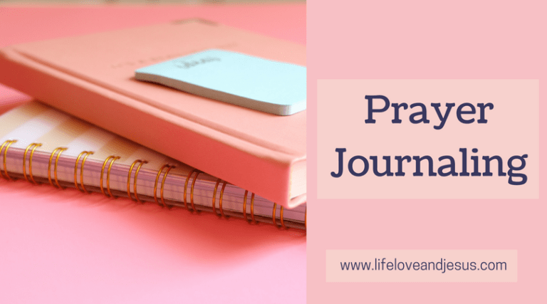 a simply prayer journal format