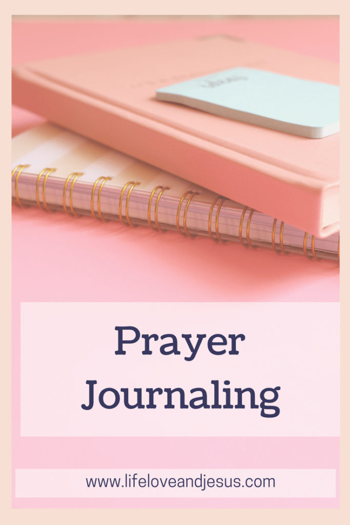 a simple prayer journal format