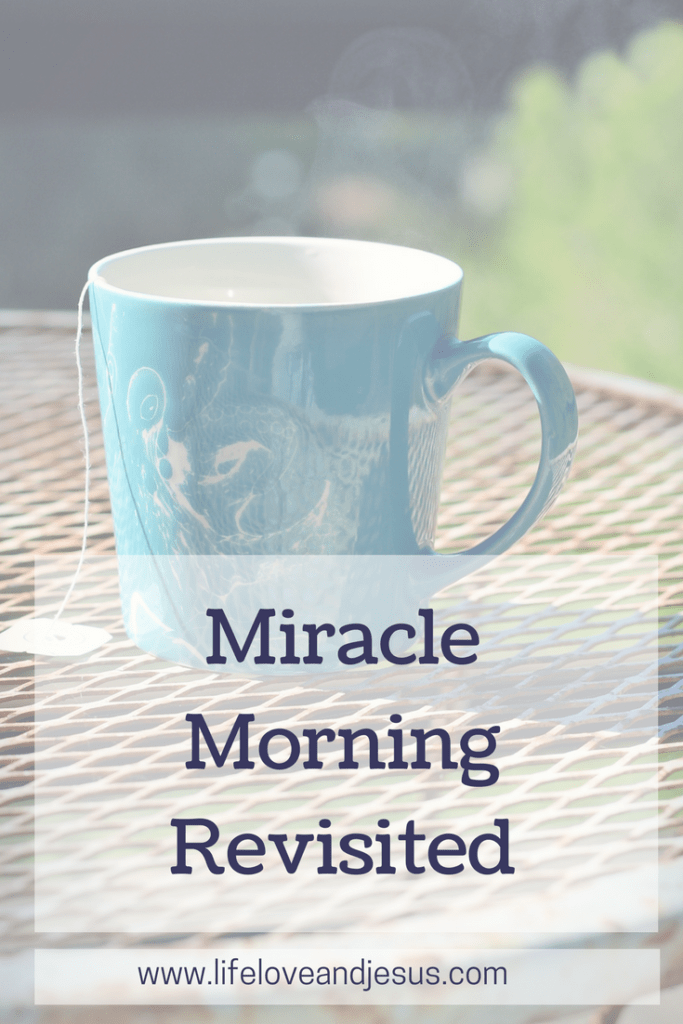 miracle morning revisited