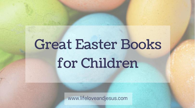 great Easter books for children
