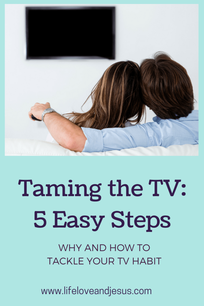 Tame the TV