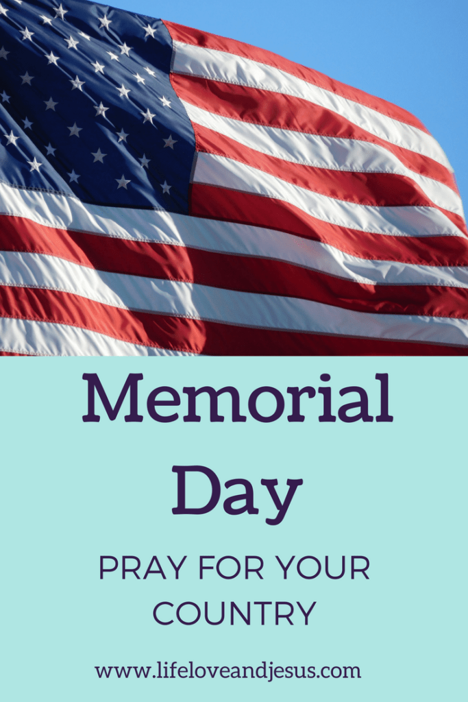 memorial day - pray for your country and government