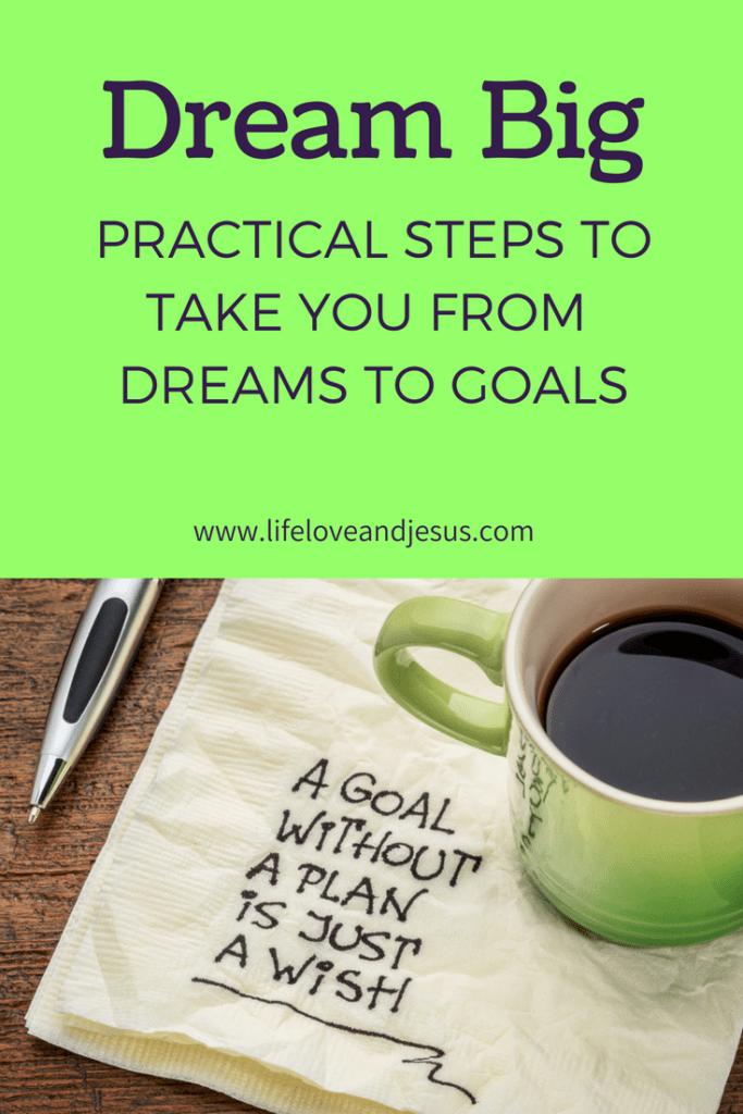 set big goals
