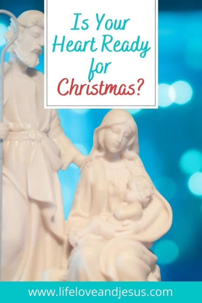 nativity on blue background