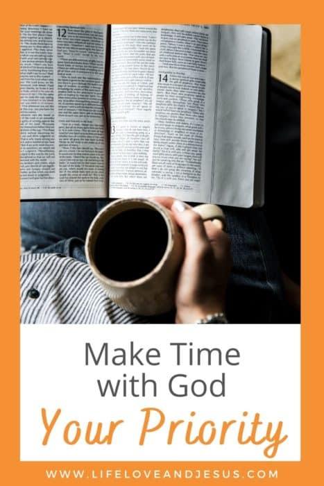 bible make time for god