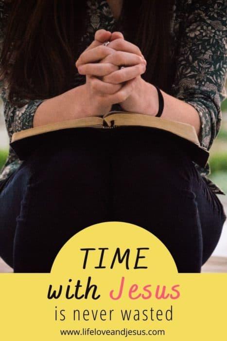 praying time with jesus