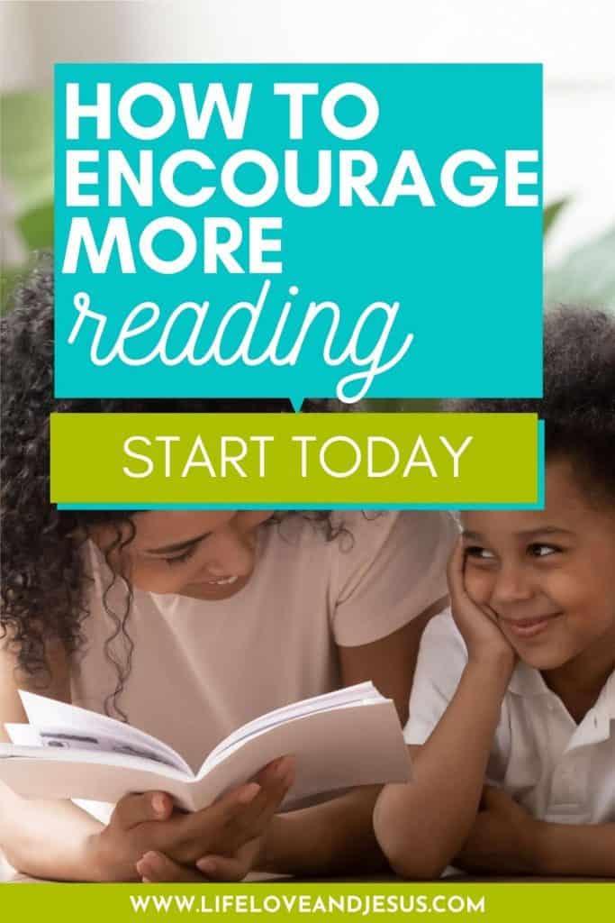 encourage more reading