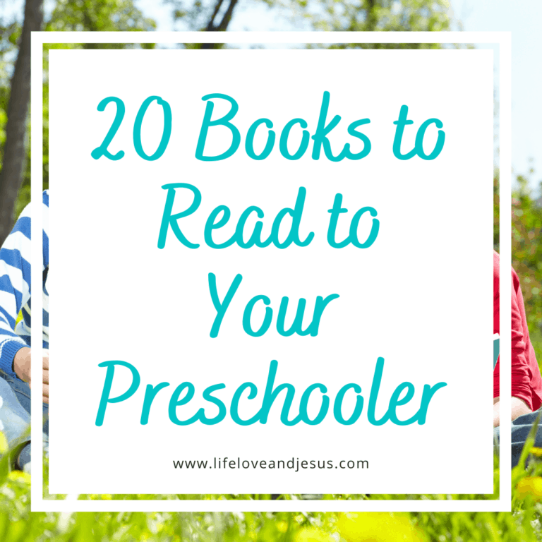 20 Books to Read Aloud to Your Preschooler
