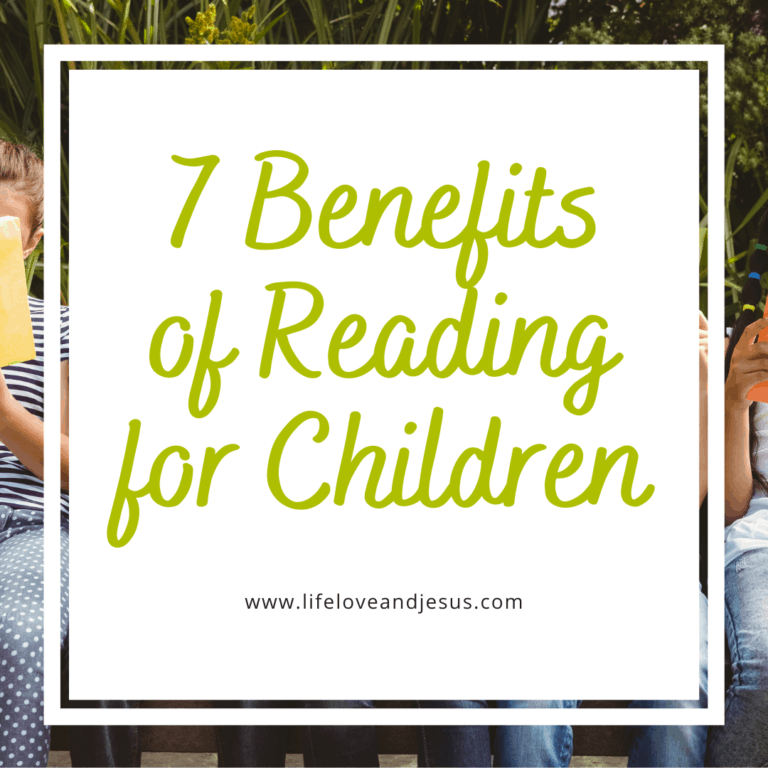 7 Benefits of Reading for Children