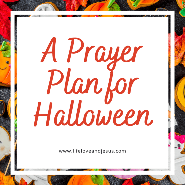 A Halloween Prayer Plan