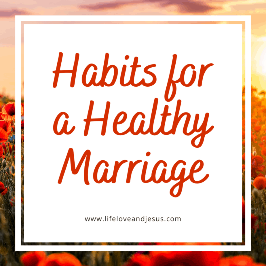 have a healthy marriage