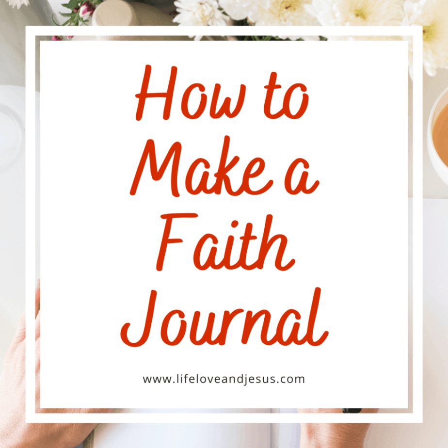 make a faith journal