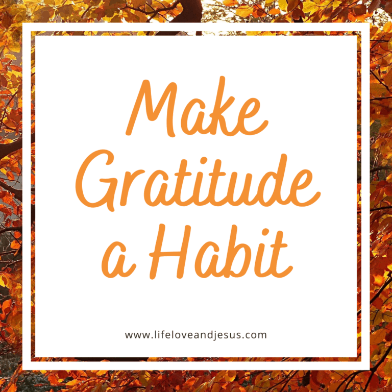 How to Make Gratitude a Habit