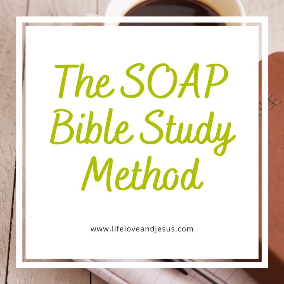 soap bible study method