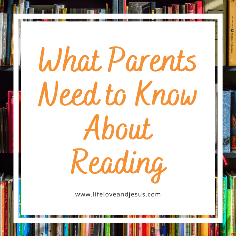 what parents need to know about reading