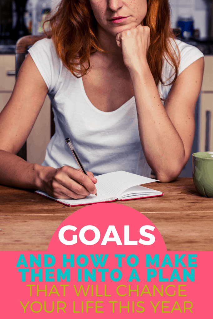 Goals and how to turn them into plans