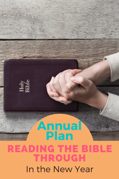 Annual Bible Reading plans