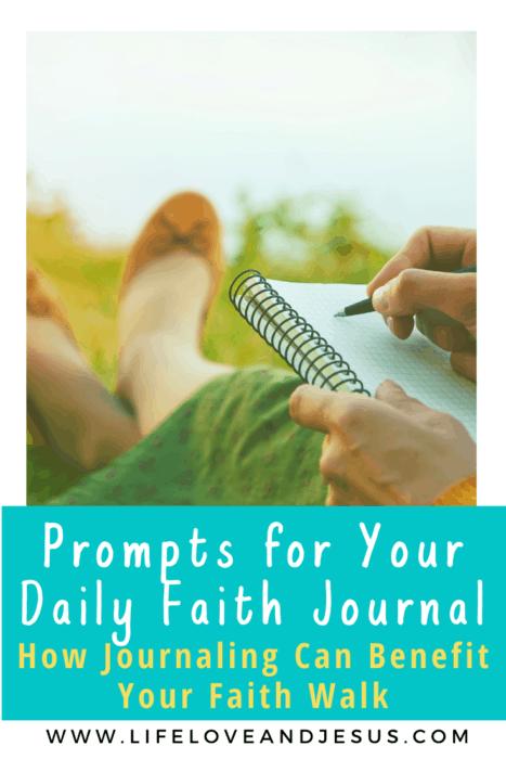 How to make a faith journal