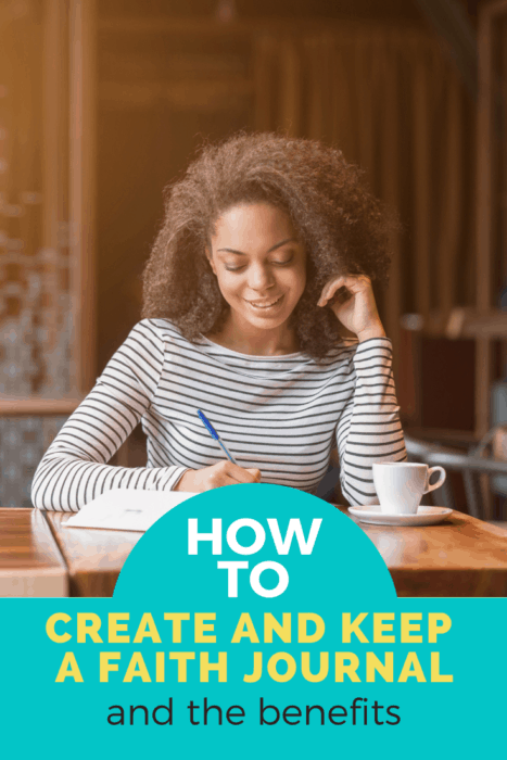 How to start your faith journal