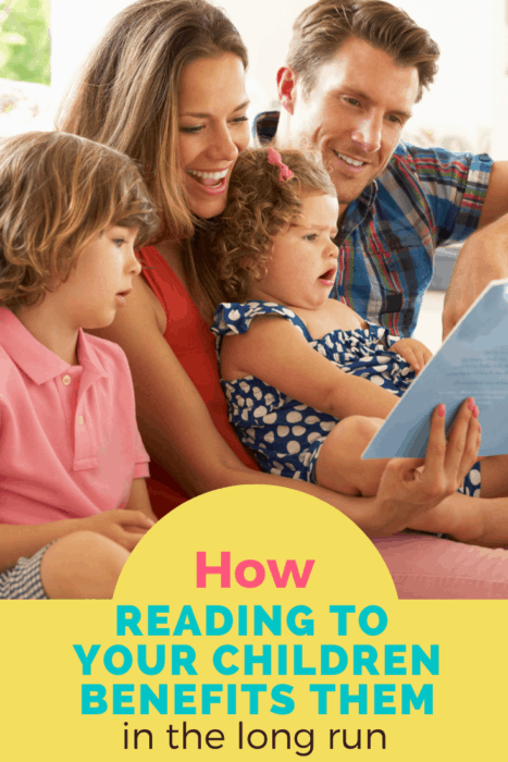Benefits of reading to your kids