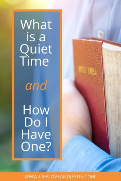 quiet time what and why