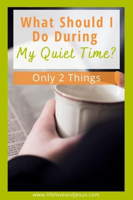 coffee bible prayer every day