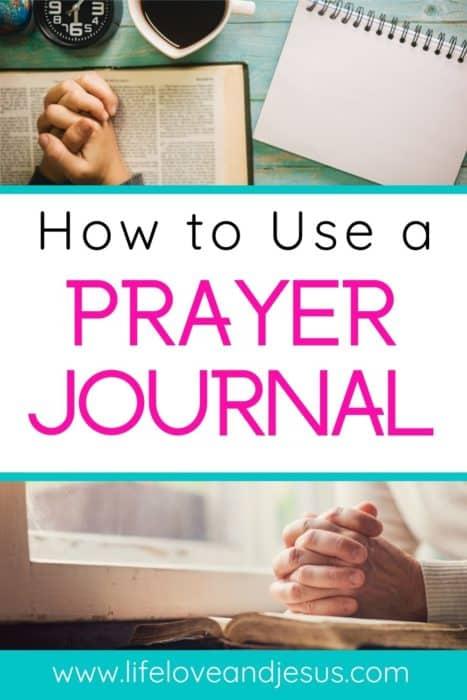 prayer journal powerful prayers