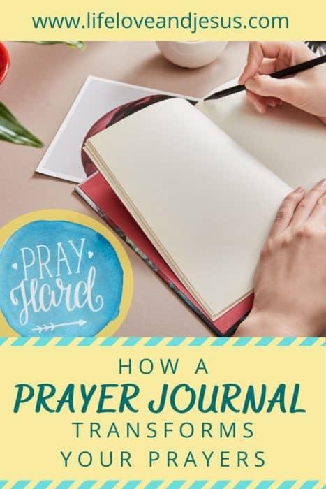 prayer journal prayer power