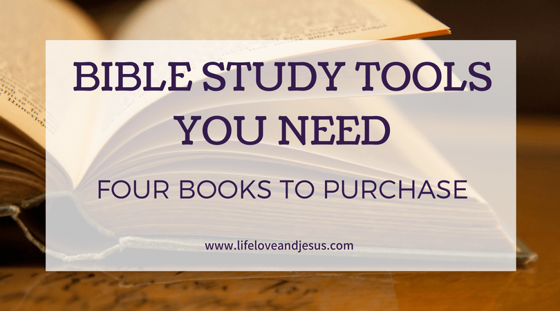 best bible study tools to own
