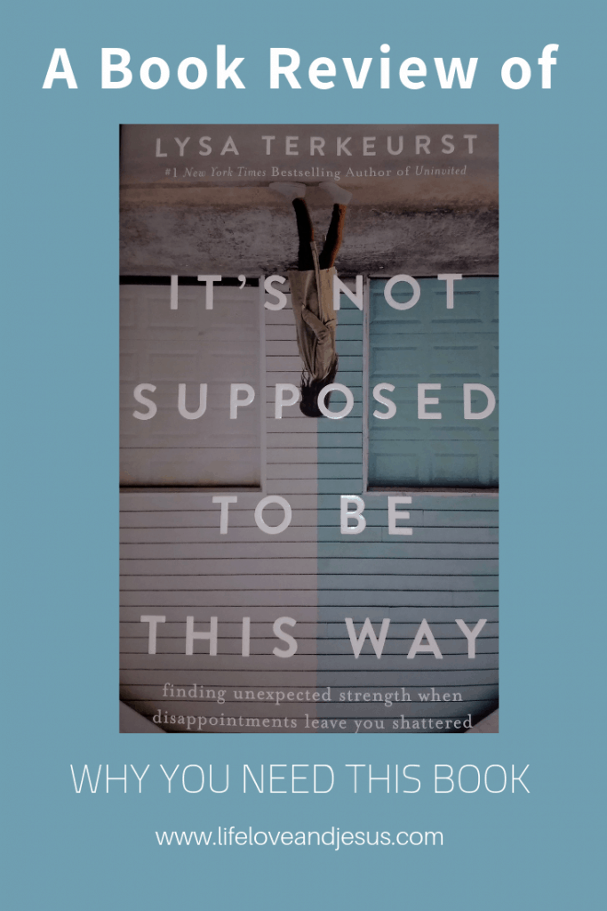 book review it's not supposed to be this way