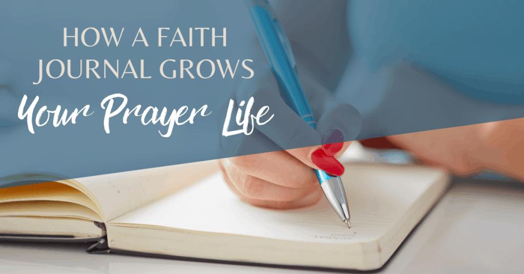 faith journal prayer journal