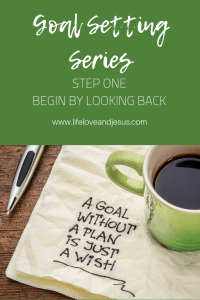 goal setting for the Christian