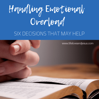 handling emotional overload