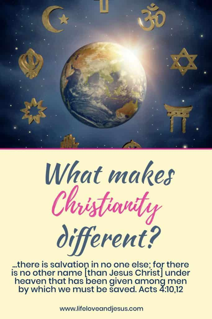 how is Christianity different