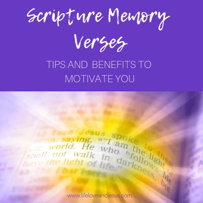 Scripture memory verses