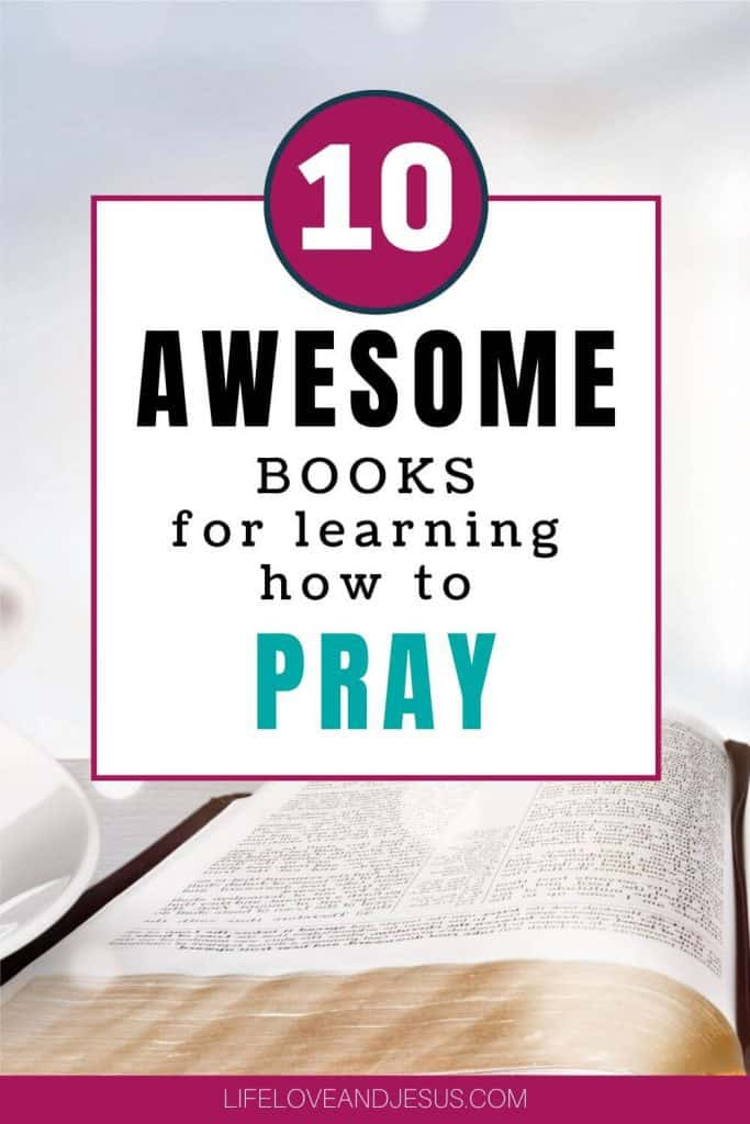 awesome books on prayer