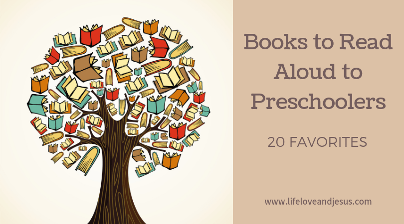 books to read aloud to preschoolers