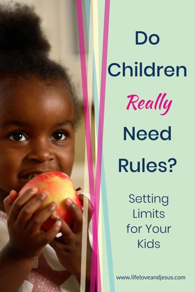 boundaries for children