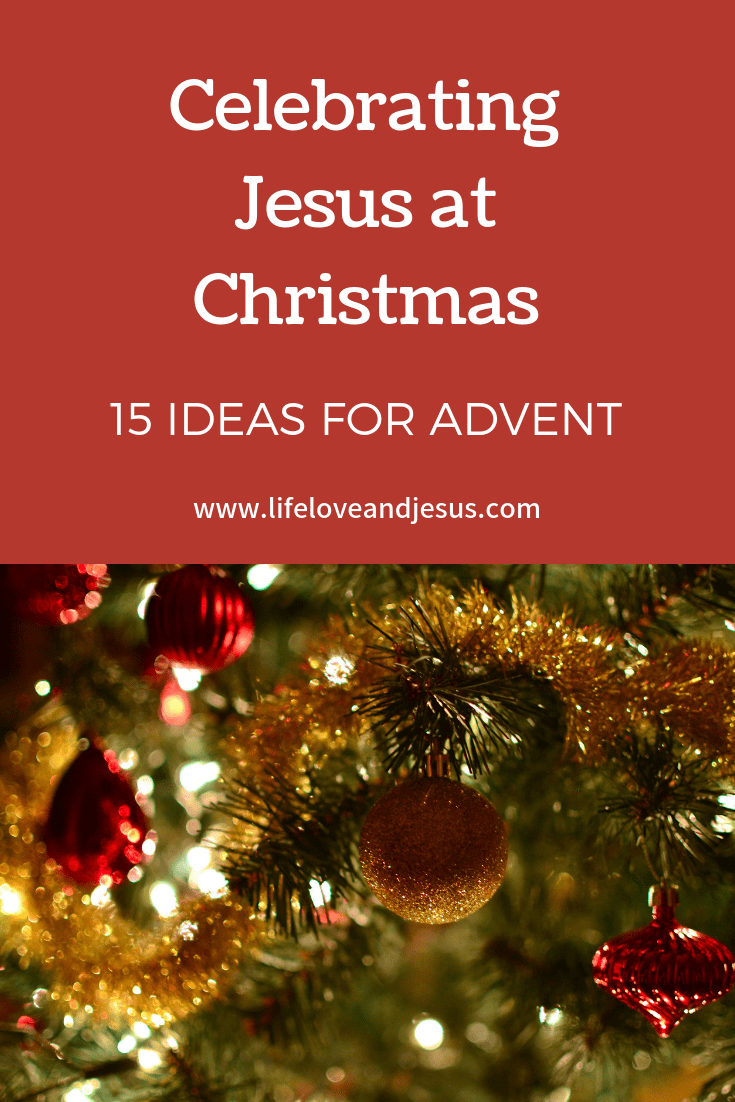 Fifteen ideas for drawing away from the pull of presents to the Presence of Jesus. We celebrate Jesus at Christmas by making smart, intentional choices.