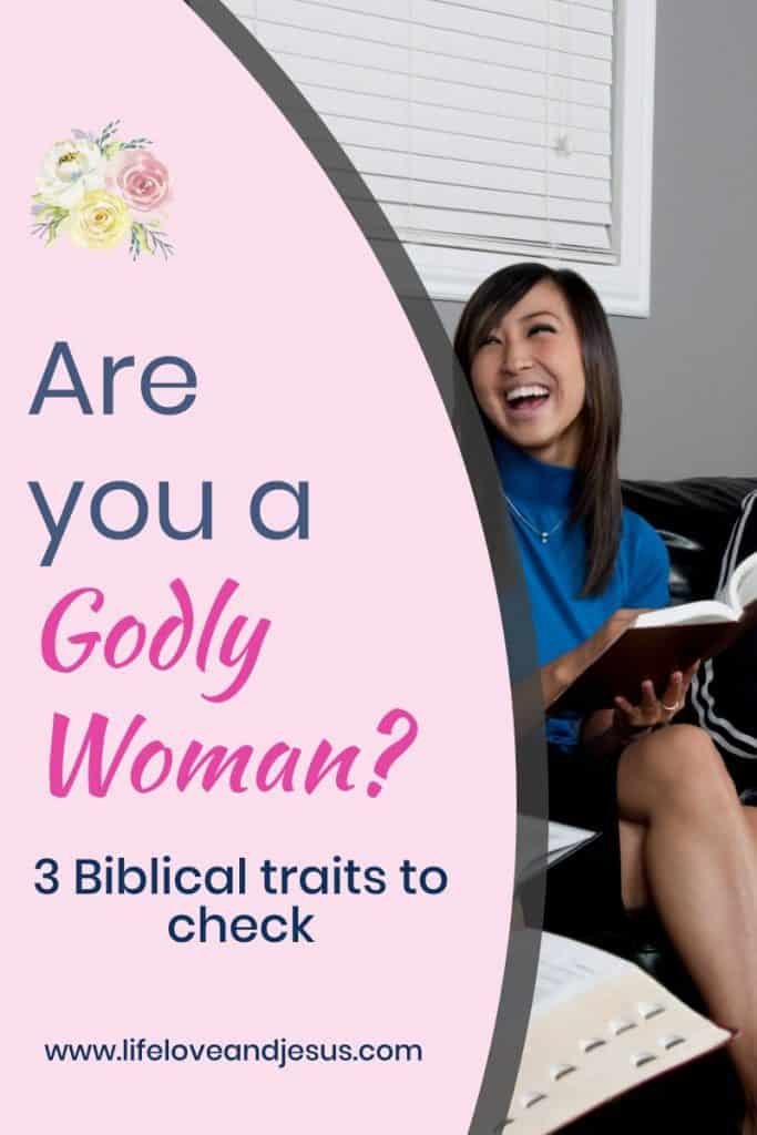 characteristics of a godly woman