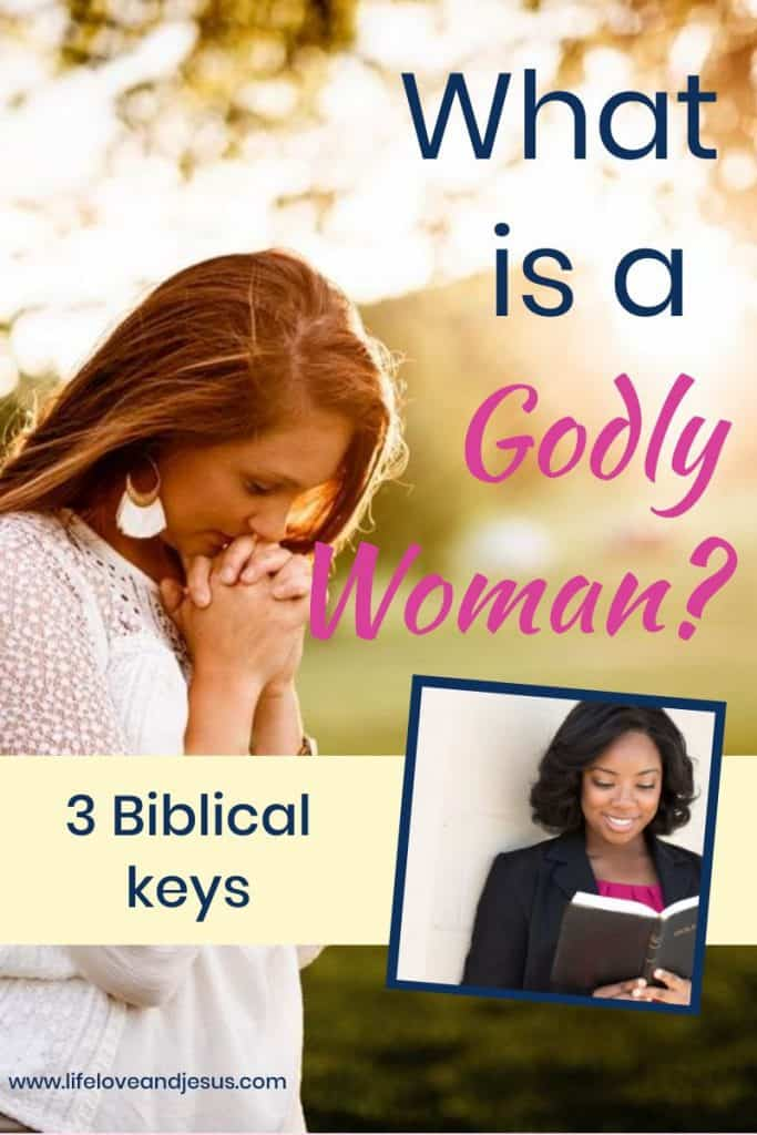 what is a godly woman