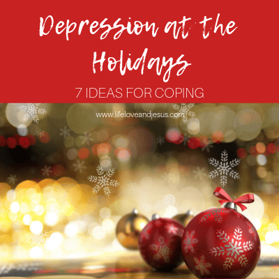 depression at the holidays