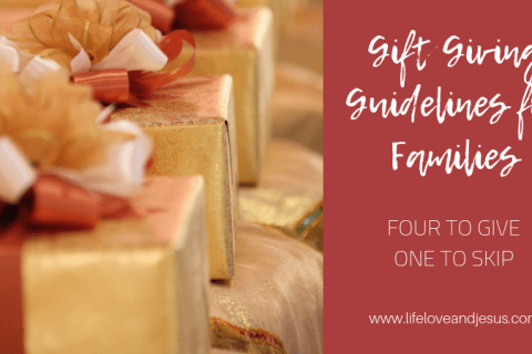 gift giving guidelines
