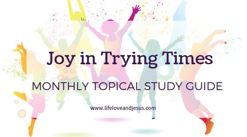 joy in difficult circumstances