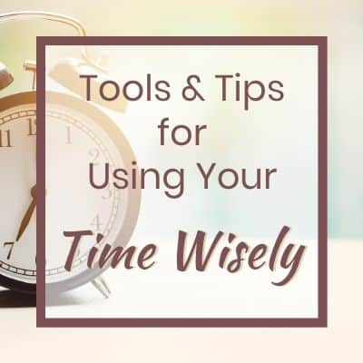 tips and tools for time management