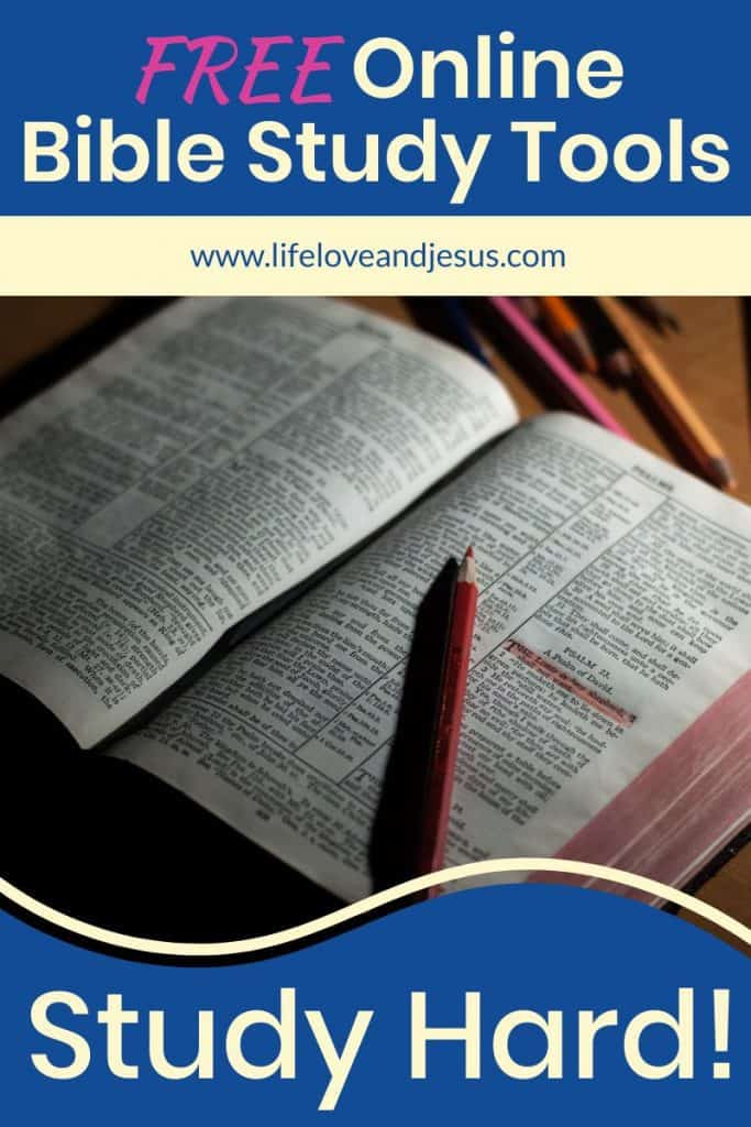 free online bible study tools