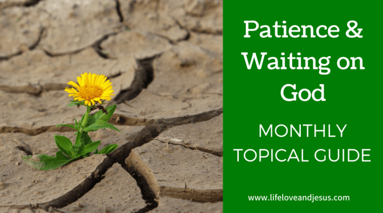 Patience and Waiting on God | Topic of the Month