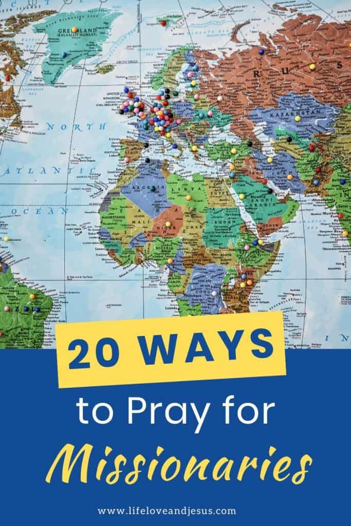 pray for missionaries