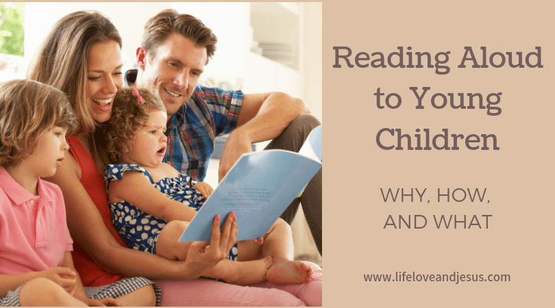 reading aloud to young children
