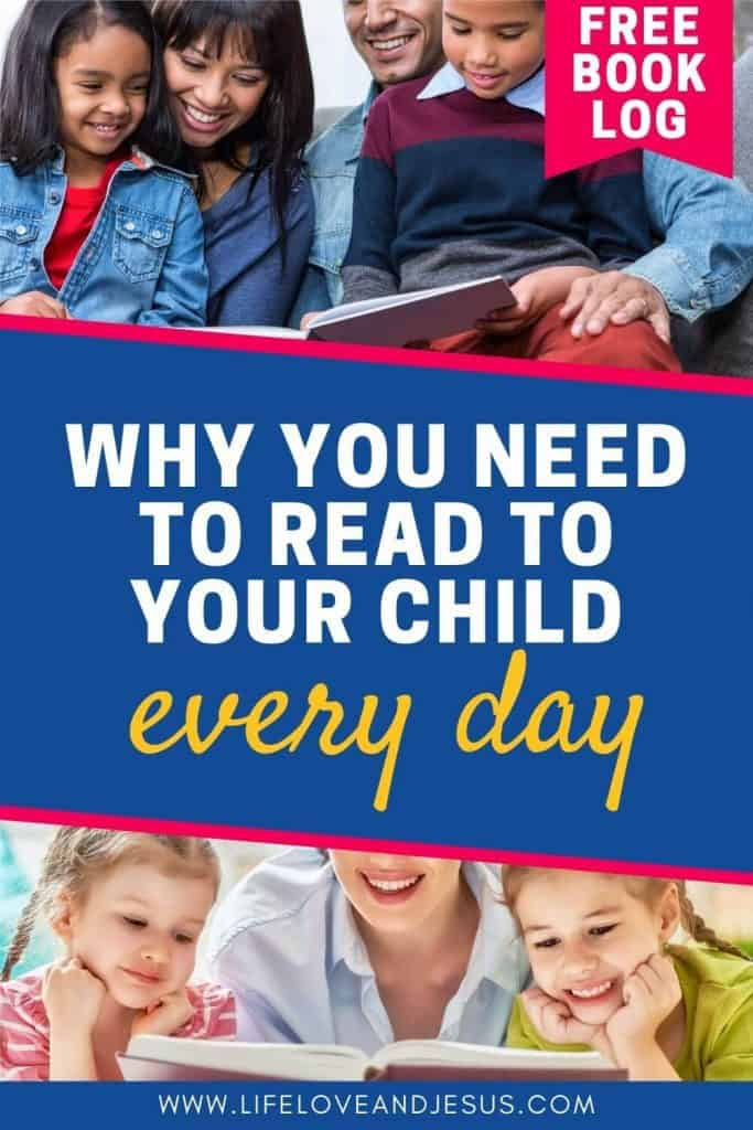 families reading together